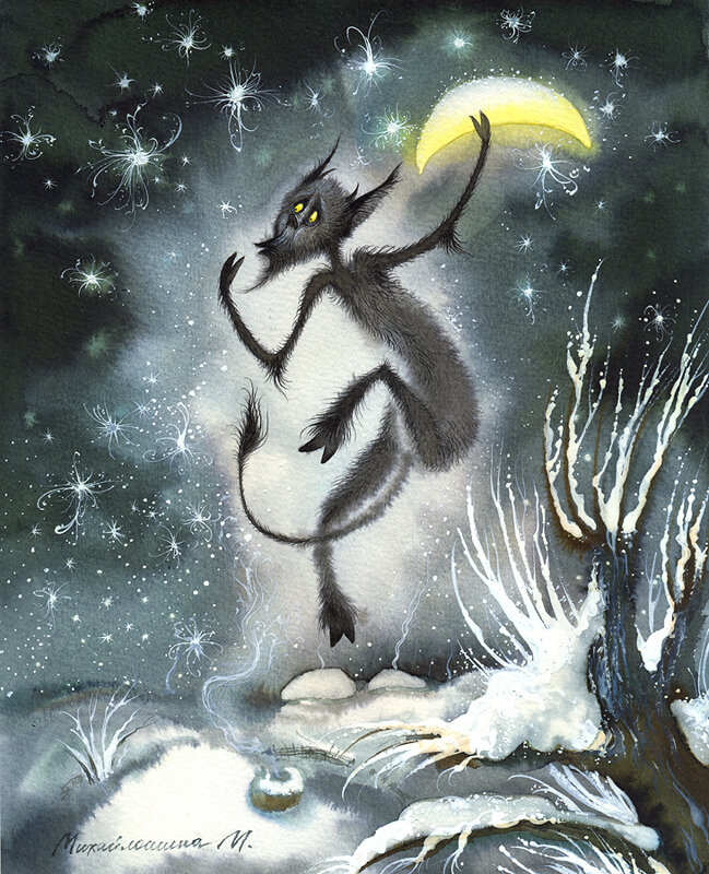 Николай Васильевич Гоголь - Ночь перед Рождеством - Михайлошина Марина (Украина)