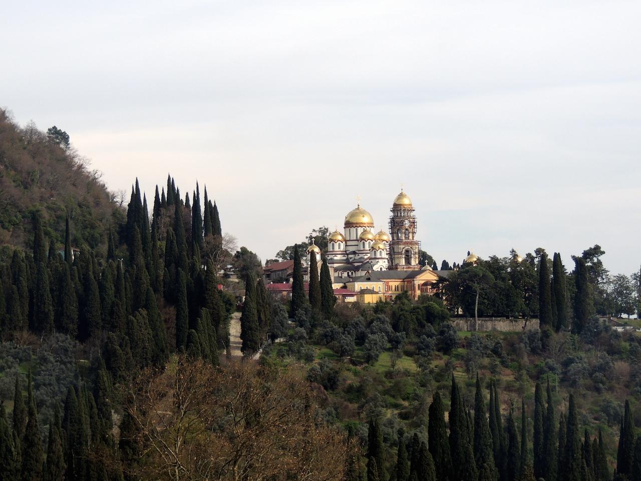 Абхазия Новый Афон Новоафонский монастырь 14 марта 2015 г., 17-050.JPG
