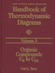 Книга Handbook of Thermodynamic Diagrams, Volume 3: Organic Compounds C8 to C28 (Library of Physico-Chemical Property Data)