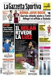 Журнал La Gazzetta dello Sport  (30 Agosto 2015)