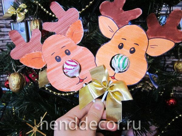 Конфетка в подарок: праздничное оформление