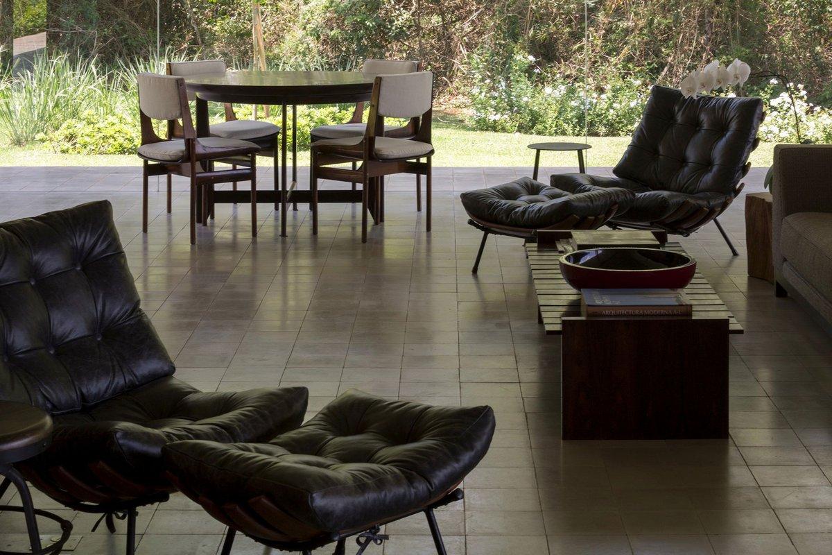 Studio mk27, Redux House, проекты Studio mk27, одноэтажный частный дом, панорамное остекление частного дома фото, частный дом минимализм, дома в Бразилии