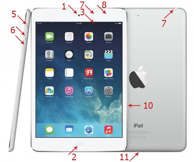 Изучаем внешний вид iPad