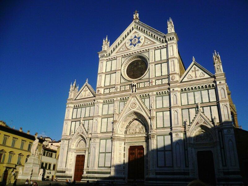 Италия, Флоренция - Санта-Кроче (Italy, Florence - Santa Croce)