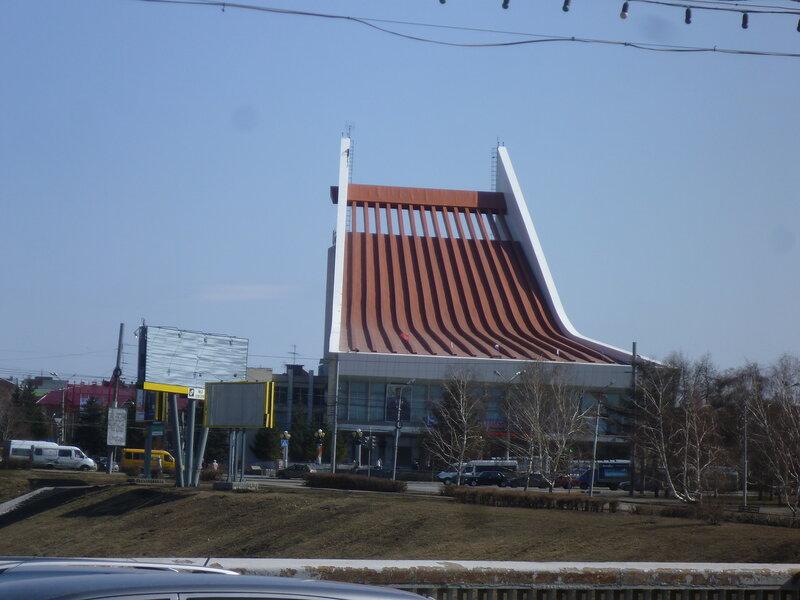 Омский музыкальный театр (Omsk musical theater)