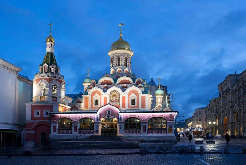 Казанский собор в Москве.