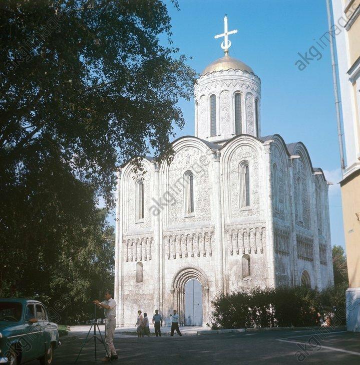 Demetrius Cathedral in Vladimir