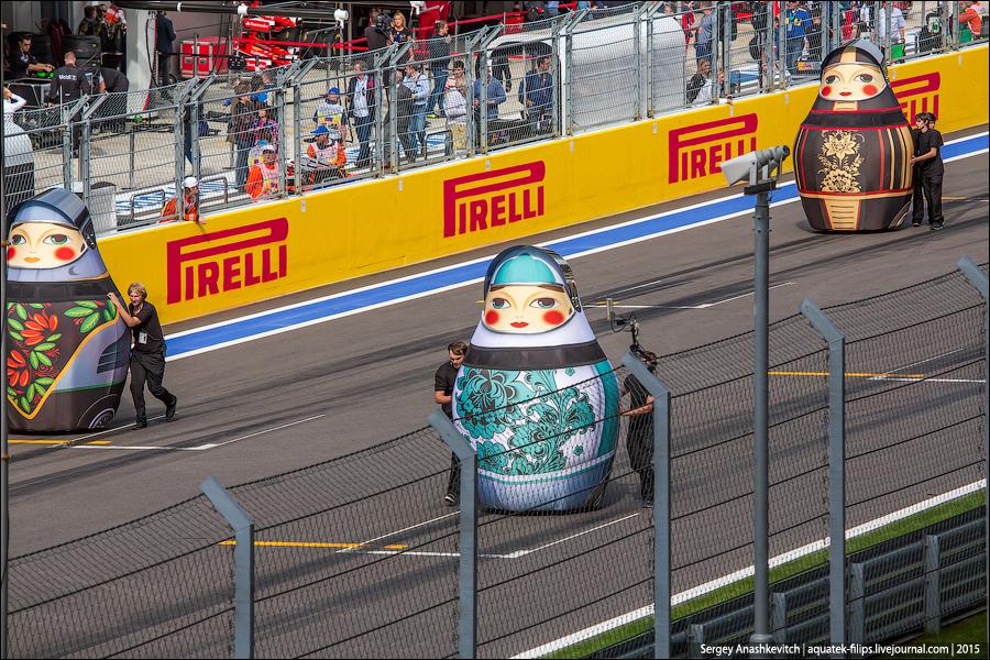 Матрешки на Формуле-1