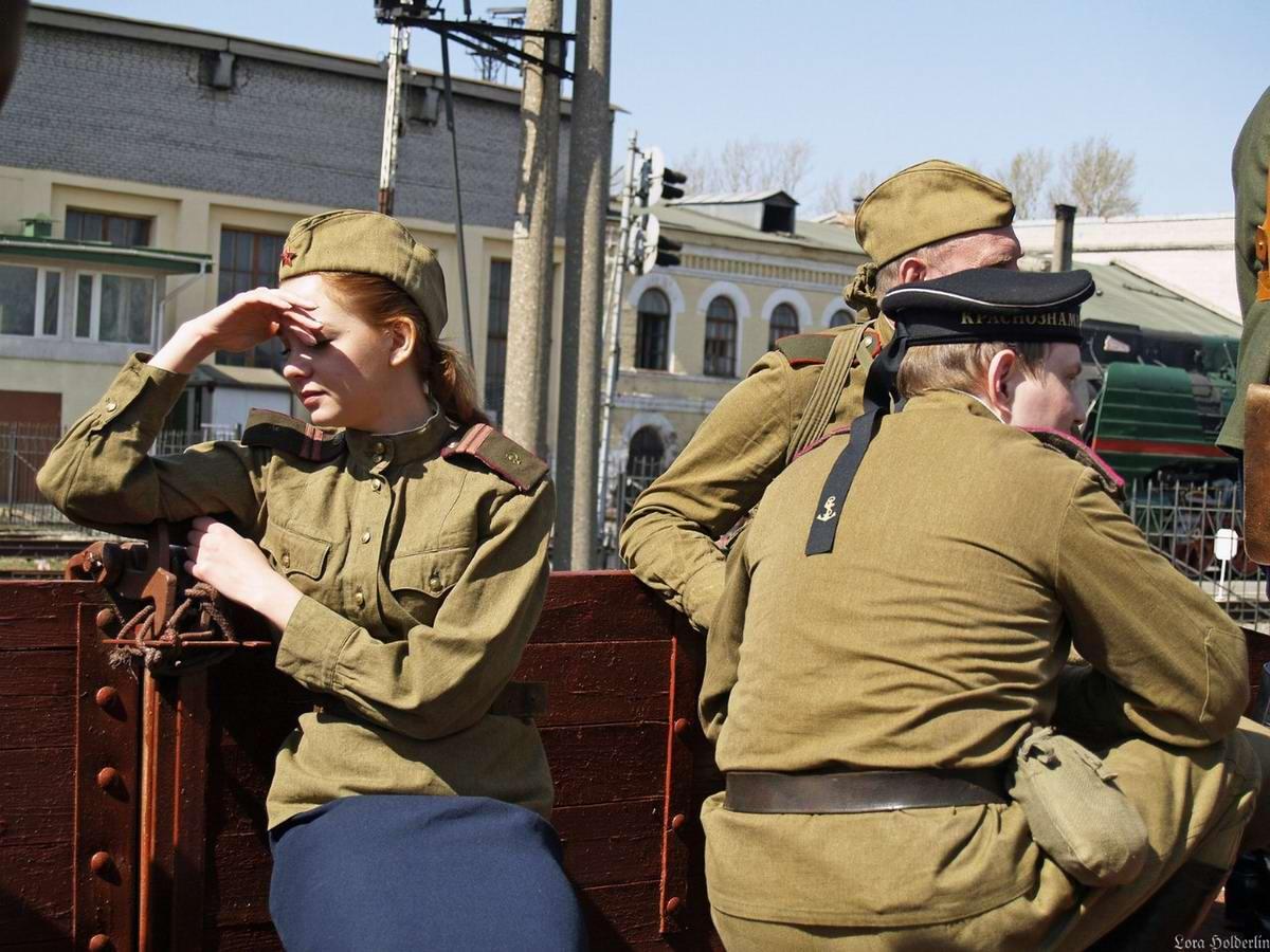Забавные моменты из жизни военных реконструкторов (87)