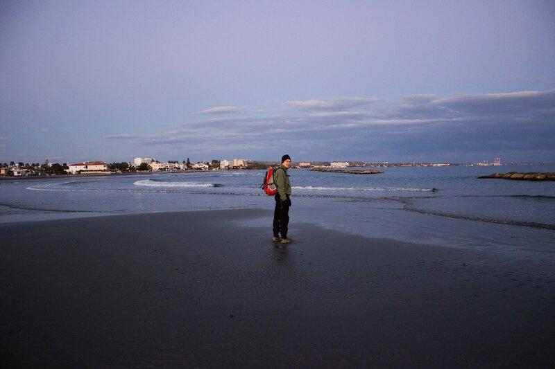 вечер на море у Ларнаки