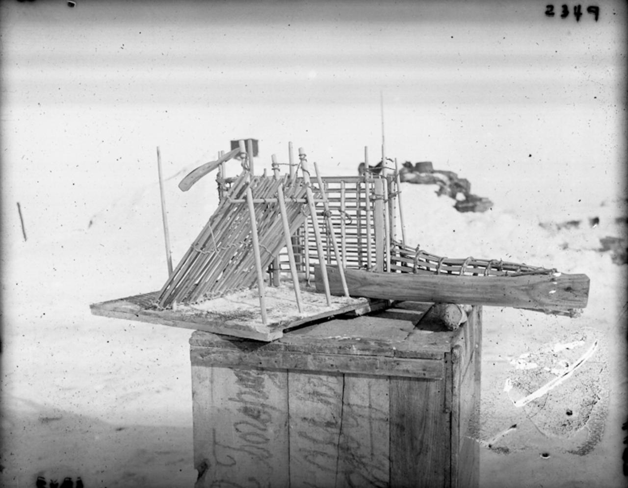 Камчатская ловушка для рыб, Сибирь, 1901