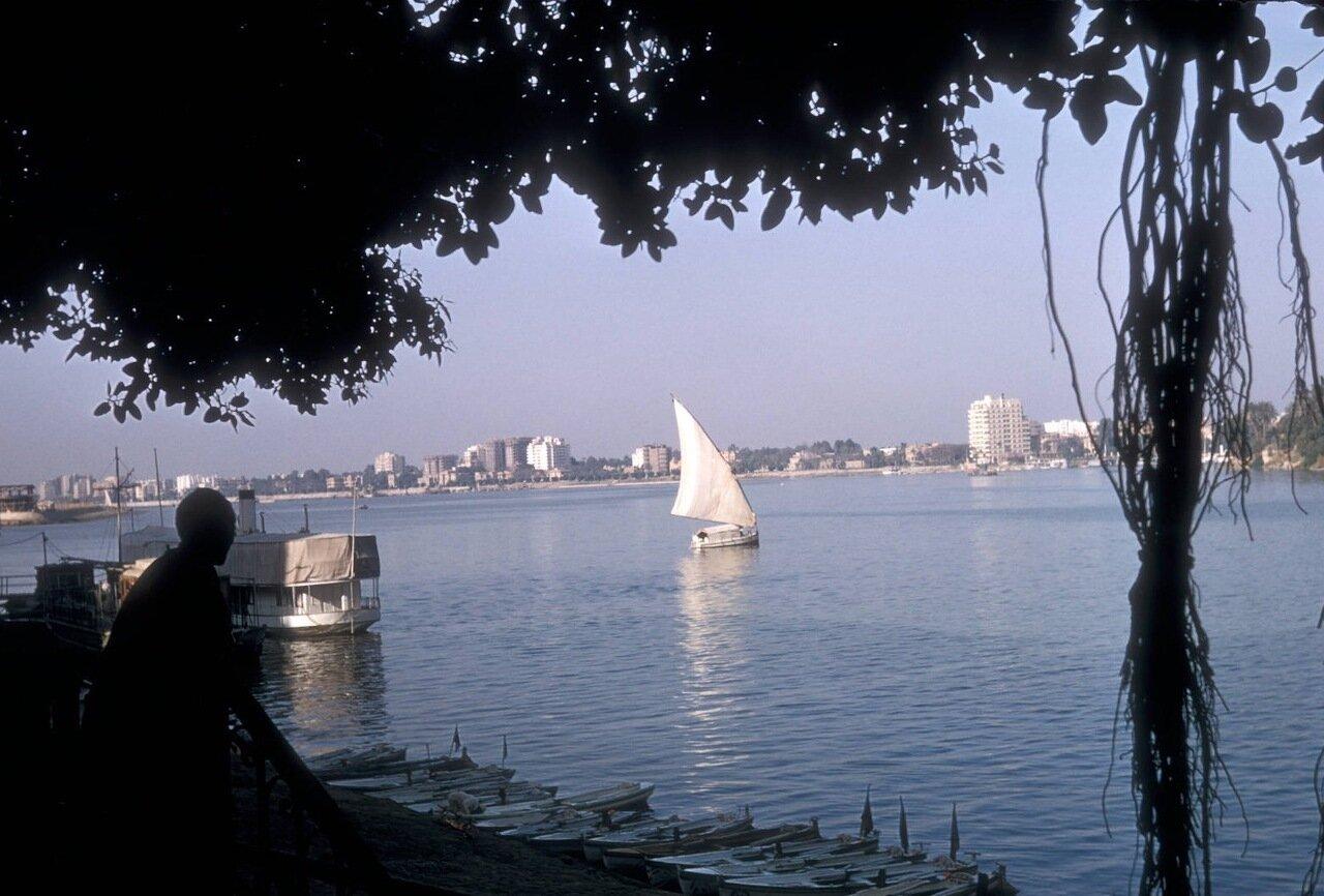 Лодки на реке Нил