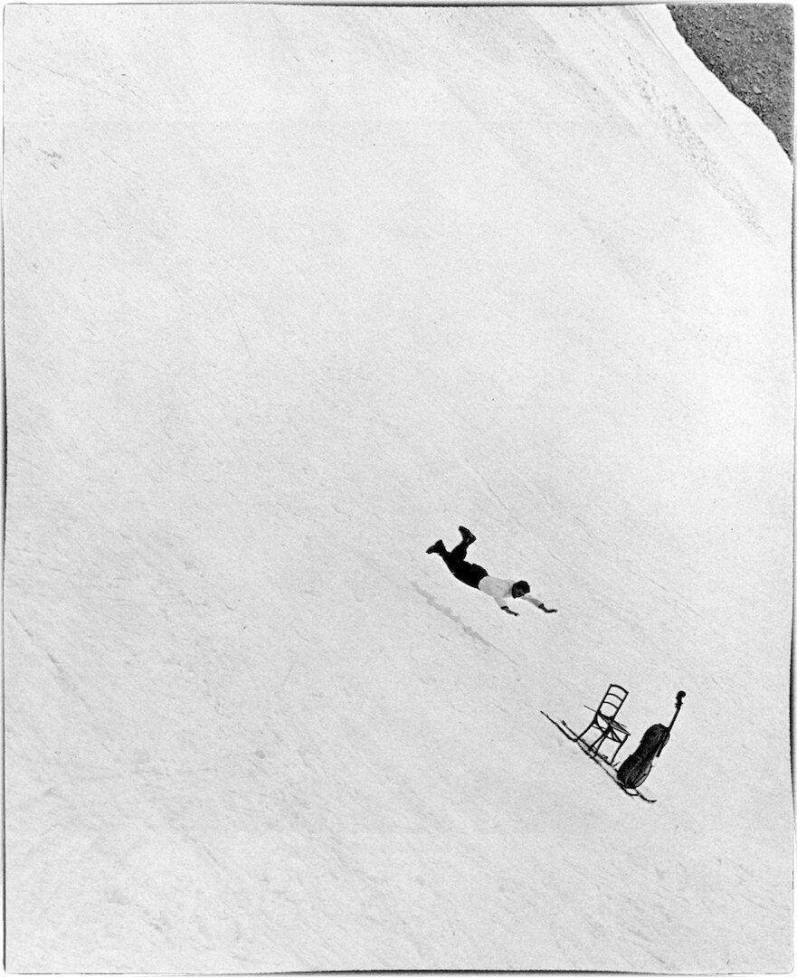 1957. Морис Буке, виртуоз виолончелист в Шамони