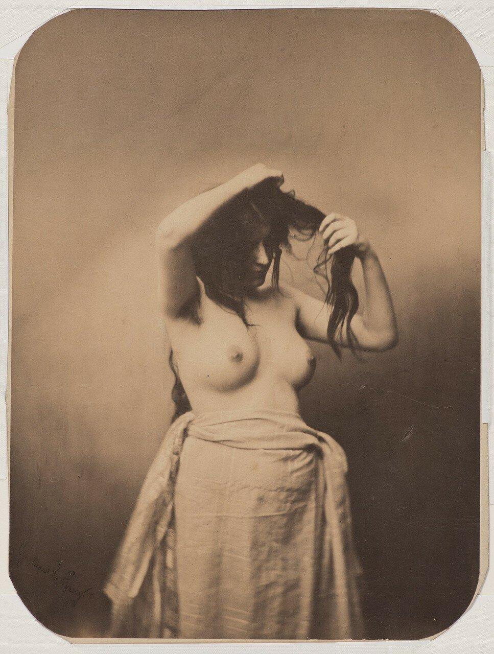 1855. Обнаженная женщина