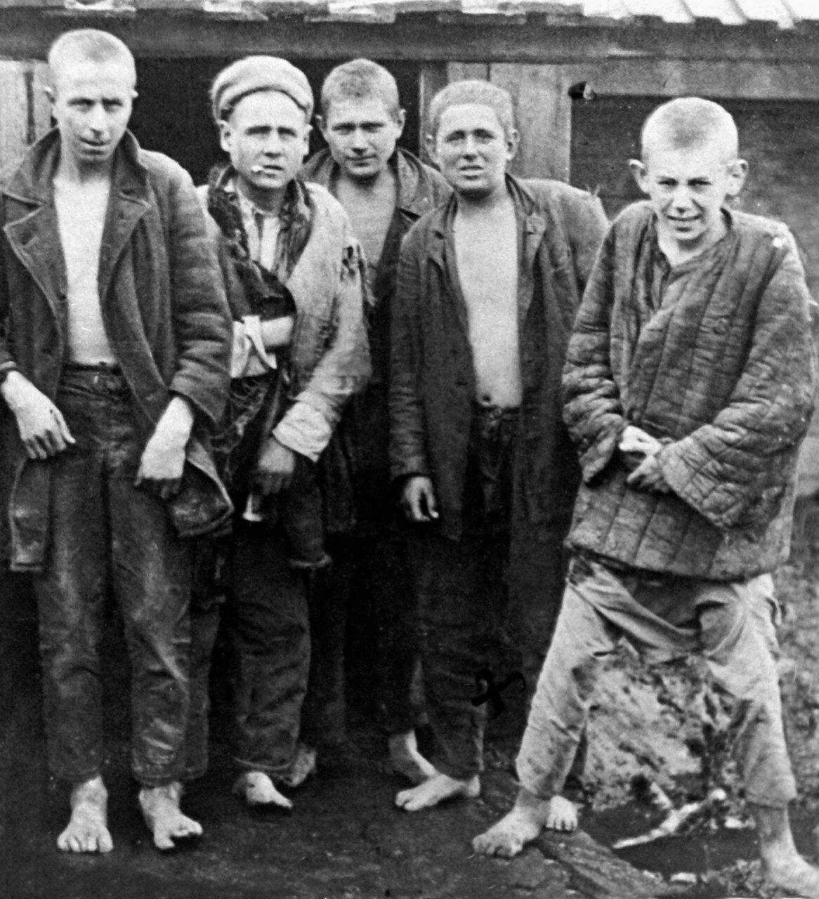 1930. Сибирь, беспризорники