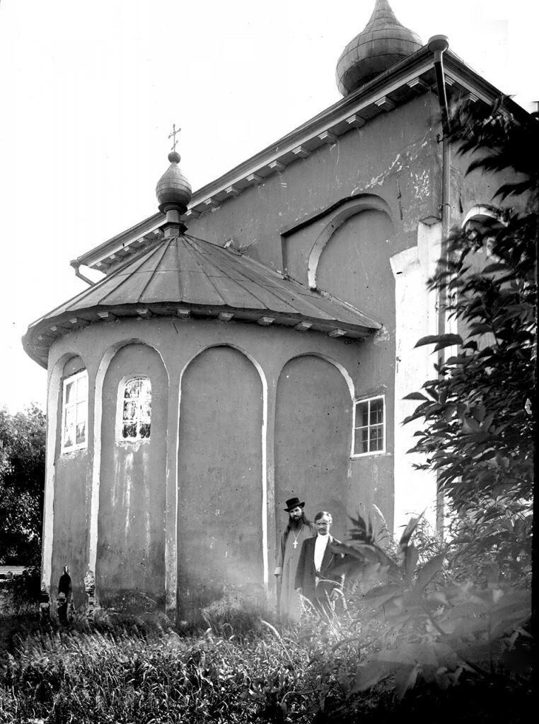 Церковь Св. Мины. Восточный фасад