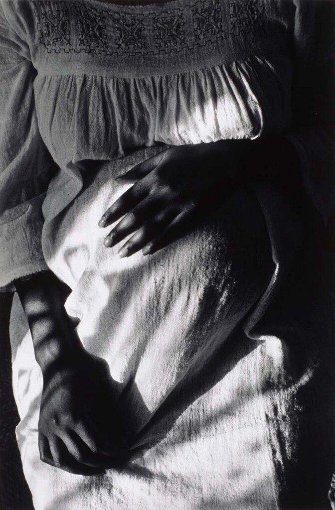 1971. Беременная женщина. Париж