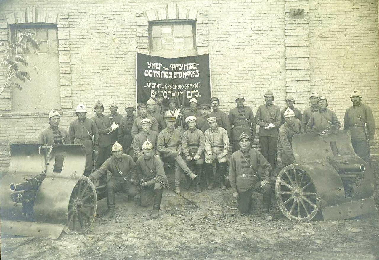 1926. 76,2 мм горная пушка обр. 1909 г. на вооружении РККА