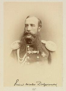 Князь Николай Долгоруков c.1874