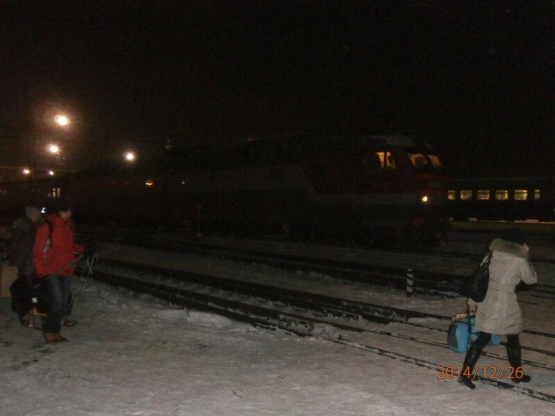 Электровоз ЧС7 с поездом № 101
