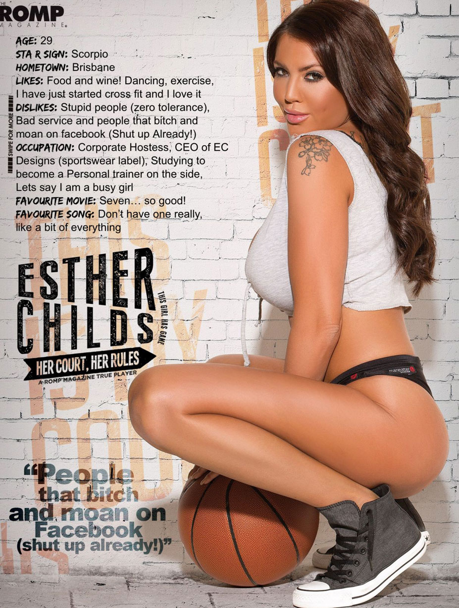 Эстер Чайлдс / Esther Childs in The Romp Magazine issue 04 2014