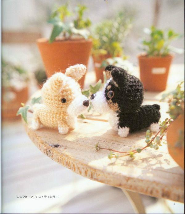 Японский журнал. Собачки