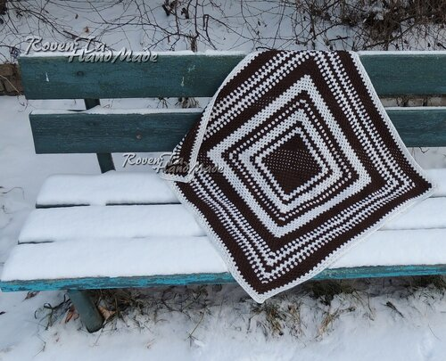 roventa-handmade, blanket, baby blanket, crochet blanket, детский плед, вязаный плед, плед крючком, плед бабушкин квадрат, бабушкин квадрат
