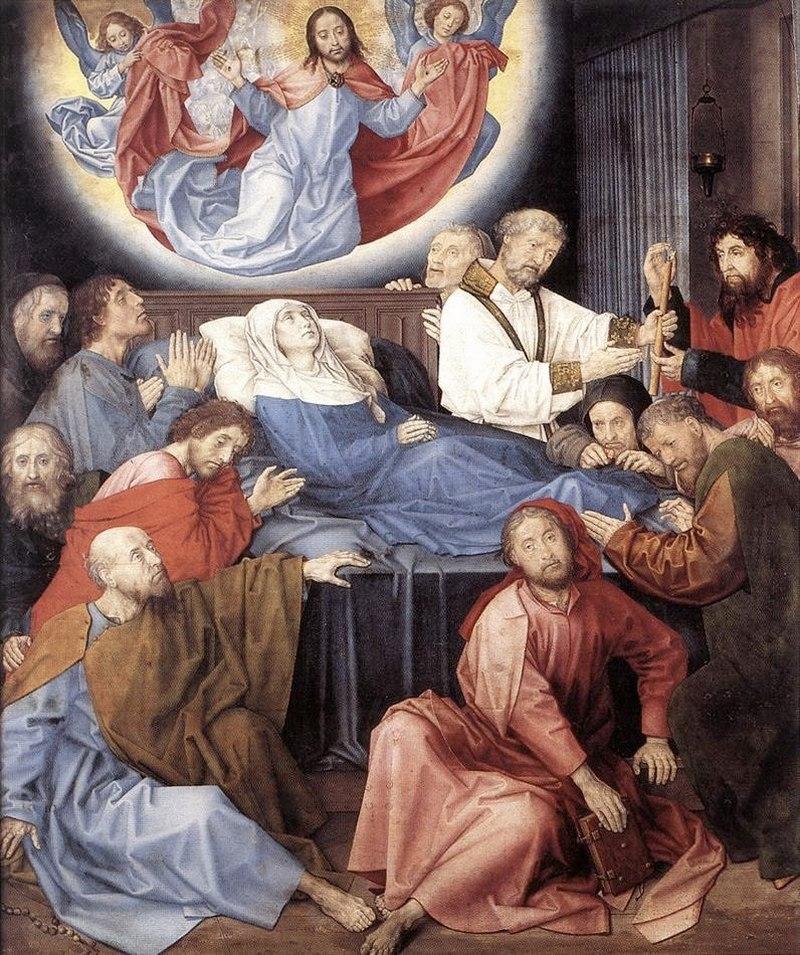 """Хуго ван дер Гус. """"Смерть Марии"""" 1481"""