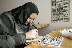 17. Вышивается монашеский параман