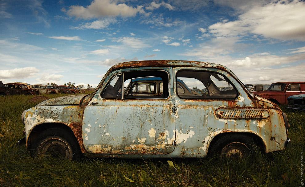 4. Основу коллекции составляют автомобили производства АЗЛК — многочисленные Москвичи во всех возмож