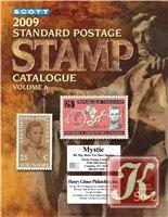 Книга Scott 2009 Standard Postage stamp catalogue. Vol. 6