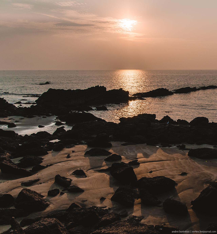 Закат в Гоа, Арамоль