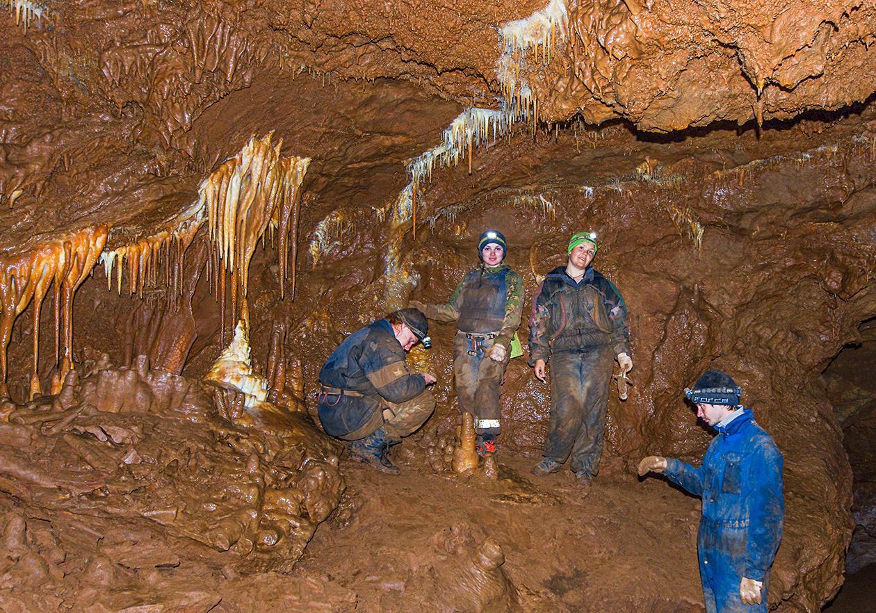 Мы в пещере