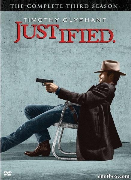 Правосудие (1-3 сезон: 1-39 серии из 39) / Justified / 2010-2012 / ПМ (Fox Crime) / WEB-DL (720p)