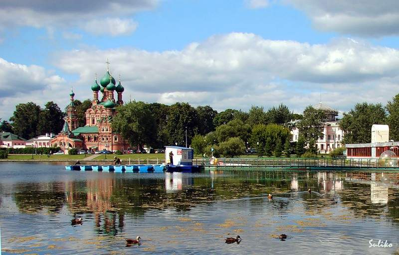 Аномальные зоны Москвы