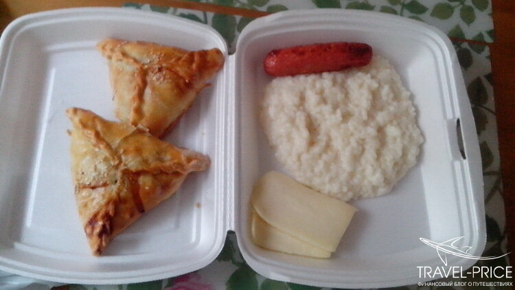 завтрак в хостеле Greenpoint