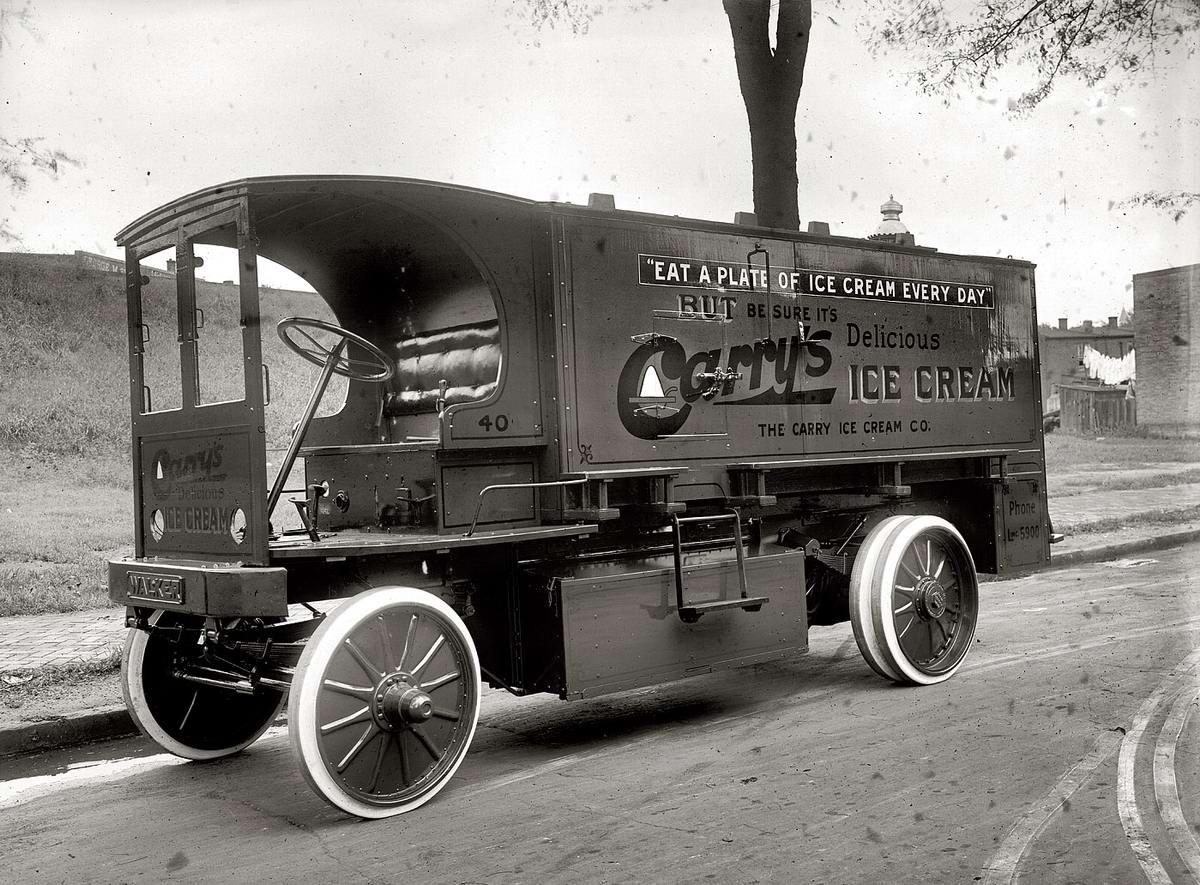 Специализированные транспортные средства начала 20-го века на снимках американских фотографов (28)