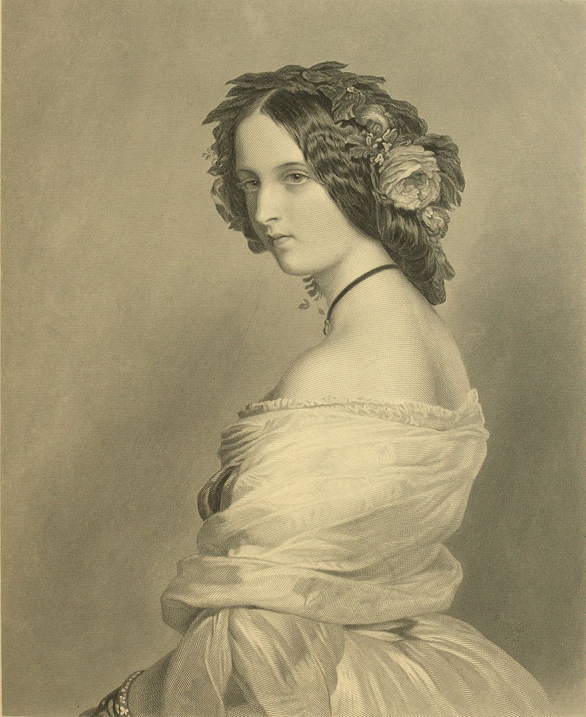 Lady Constance Leveson-Gower (1834-80) 1850
