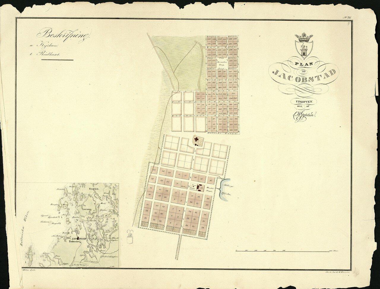 Якобстад. 1842