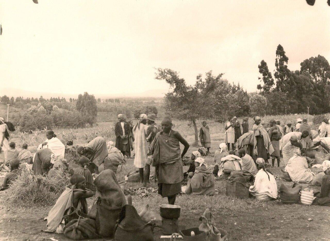 Кения. Рынок в Ньери