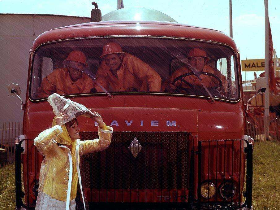 1967. Реклама «Saviem»