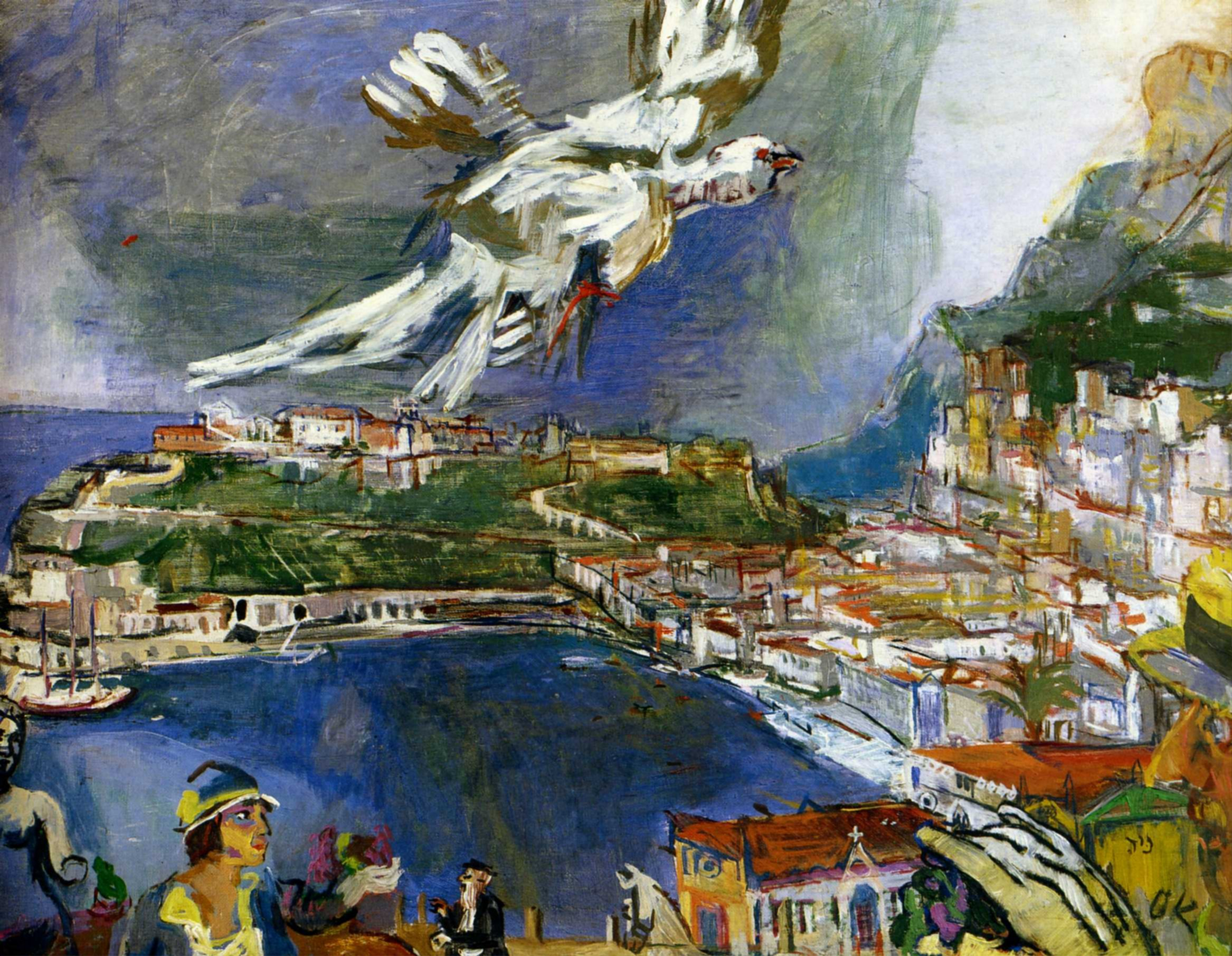 Оскар Кокошка. Монте-Карло 1925
