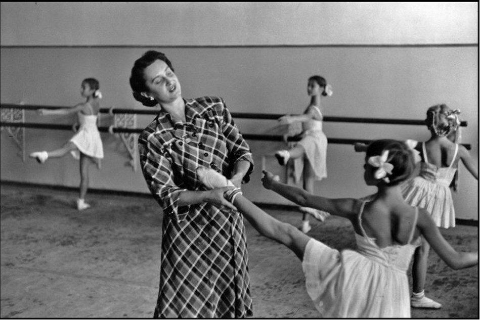 1954. Москва. Балетная школа