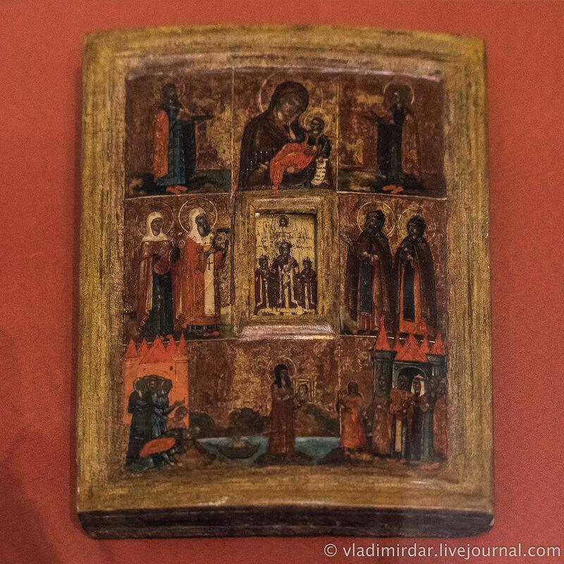 Икона «Святители Гурий и Варсонофий». Россия. XVII в.