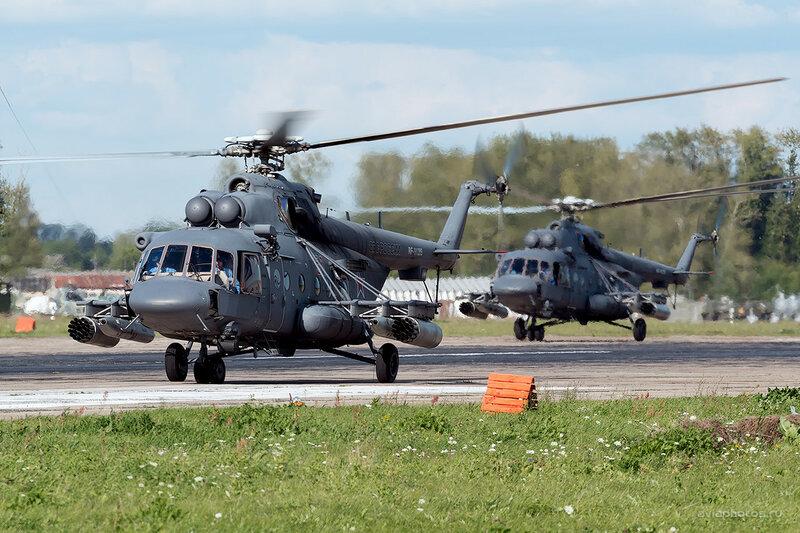 Миль Ми-8АМТШ (RF-91209 / 51красный) D800471