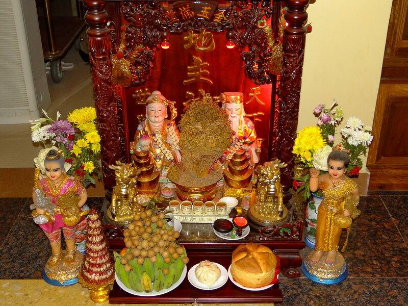 Буддизм в отеле :-)