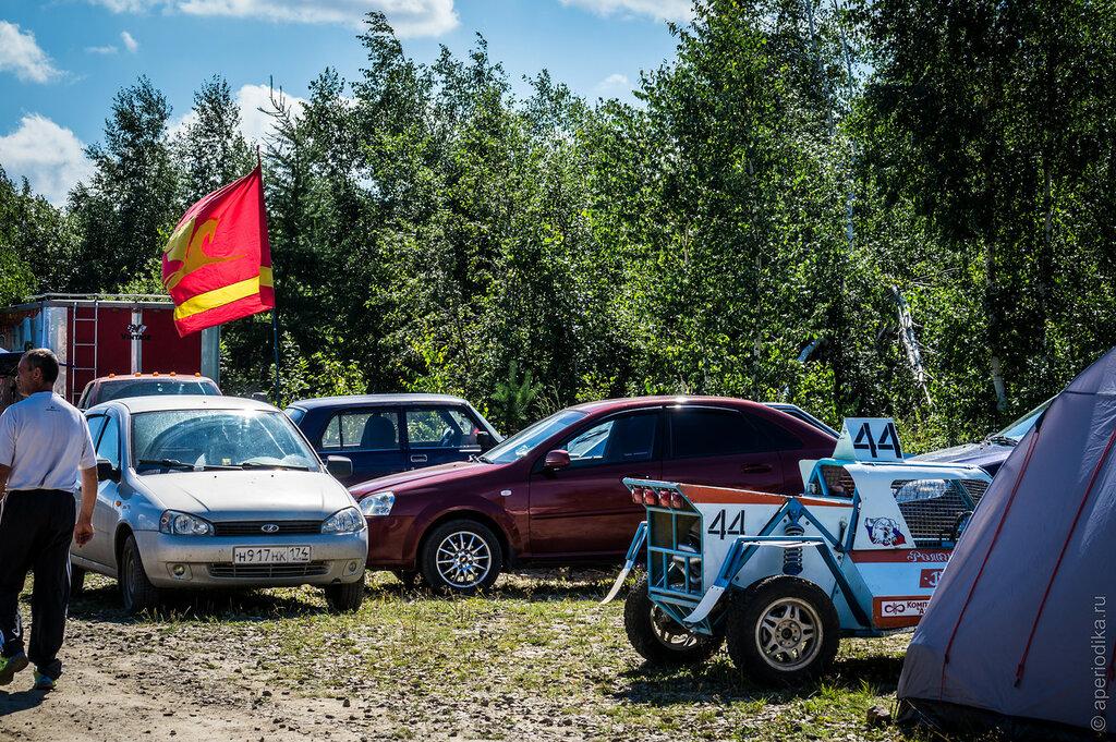 Златоуст. Чемпионат России по автокроссу. Отборочные заезды