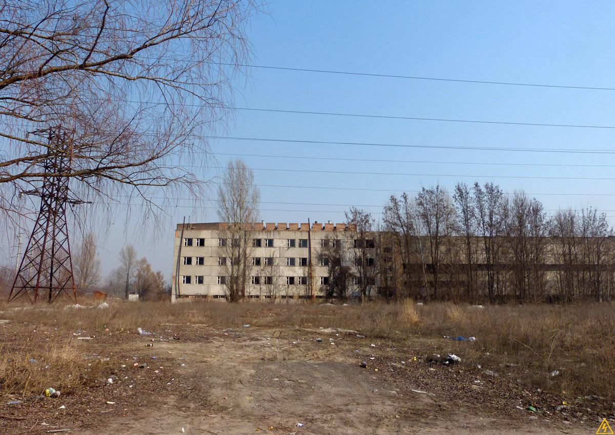 Недобудований цех Київського заводу алюмінієвих будівельних конструкцій