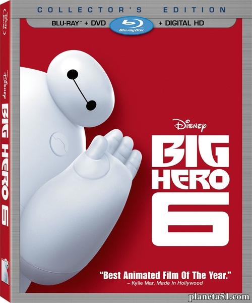 Город героев / Big Hero 6 (2014/BDRip/HDRip)