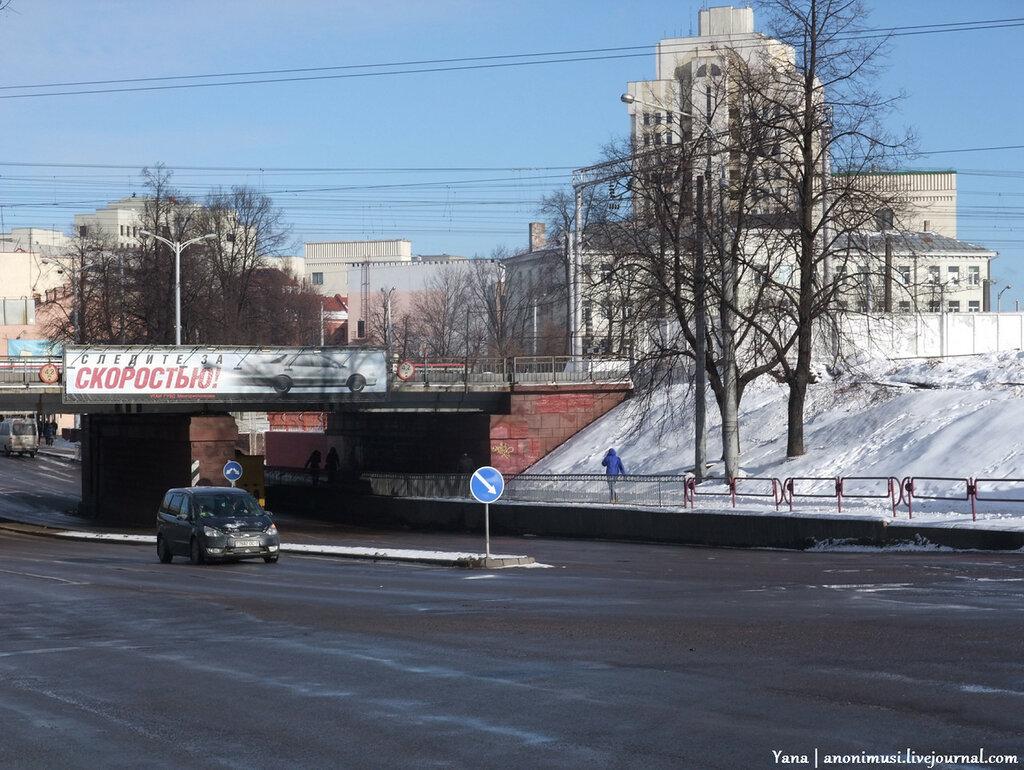 Зимние зарисовки.  Минск